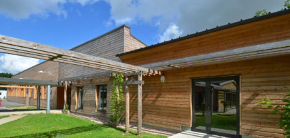 UPTURN IN TIMBER CONSTRUCTION